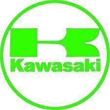 Kawasaki Motorbike Stickers