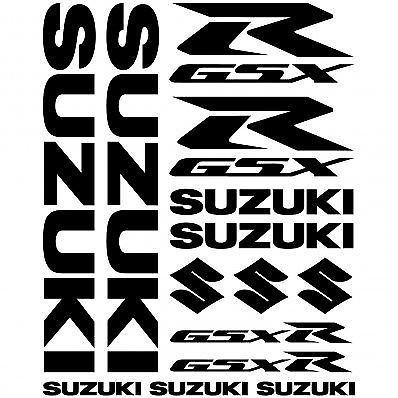 Suzuki GSXR  Decals Belly Pan Fairings Panniers Helmet Motorcycle Stickers